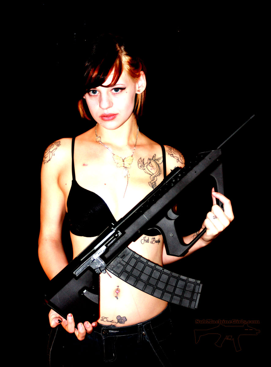 Sub Machine Girls | Cherry Bomb: SAIGA-12 Kushnapup Bullpup