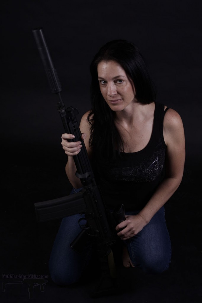 Amy with DSA STG58