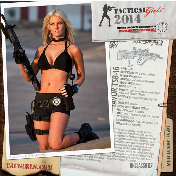 Tactical Girls 2014