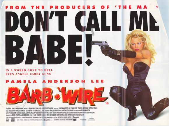 Pamela Anderson - Barb Wire 1996 Poster