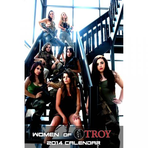 Women of Troy 2014 Calendar