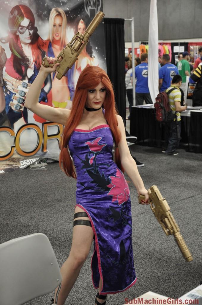 Kristen Hughey at SLC ComicCon FanX