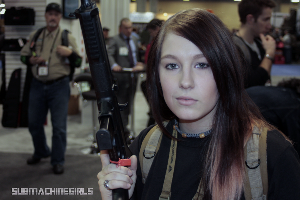GunDoll + Caracal CC10 @ SHOT 2013