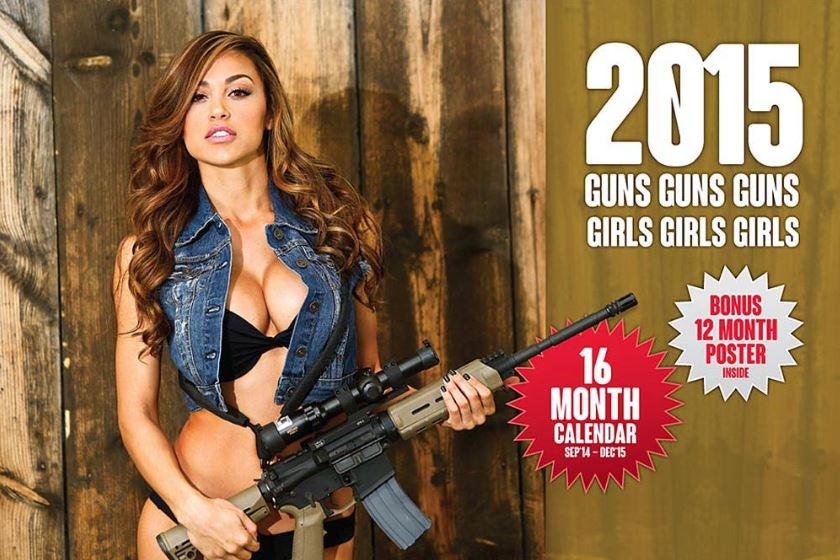 Guns & Girls 2015 Calendar