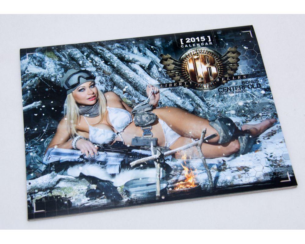 Liberty Belles 2015 calendar cover